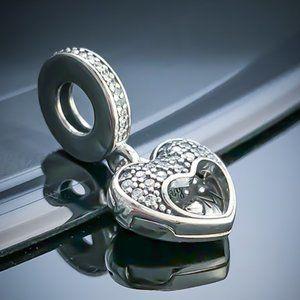 Pandora Jewelry - Pandora I Love My Mom Heart Dangle Charm